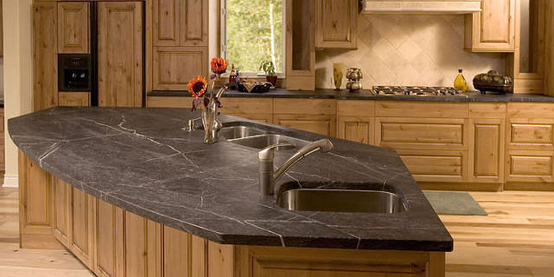 Soapstone Kitchen Countertop Remodel