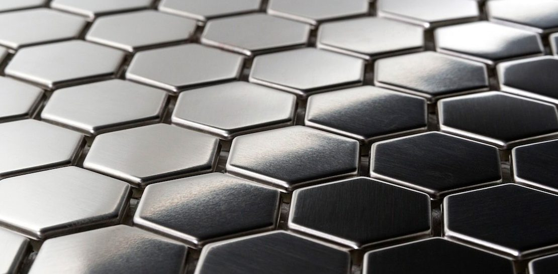 metal tiles can add a versatile and textural design element to your bathroom or kitchen wall or floor this is a good choice if you feel like your home has - Metal Tile Home 2016