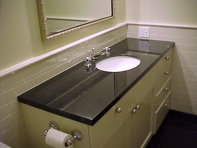 Absolute Black Granite Countertops Seattle