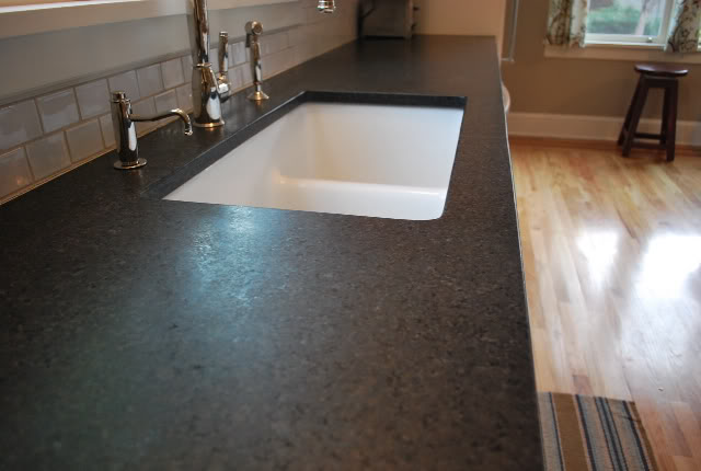 Absolute Black Satin Granite Countertops Seattle