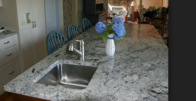 Azul Aran Granite Countertops Seattle