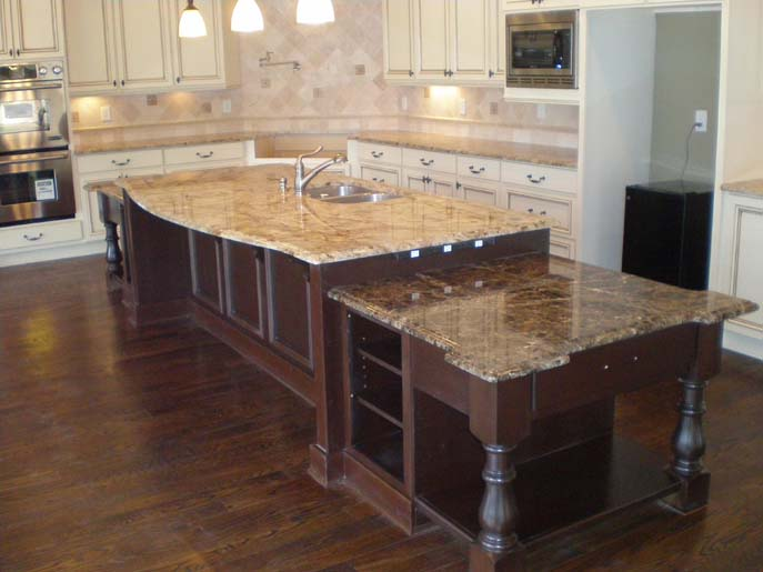 Typhoon Bourdeaux Granite Kitchen Countertop Displays