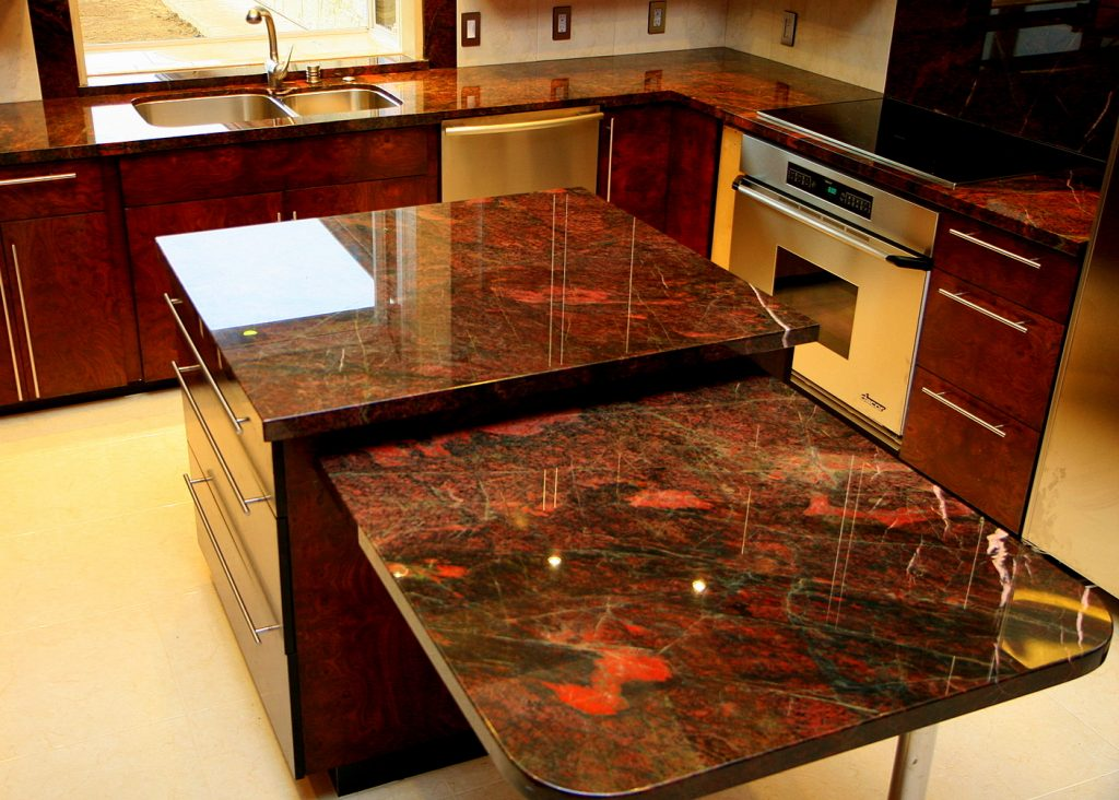 Verde Fuoco Granite Countertops Seattle