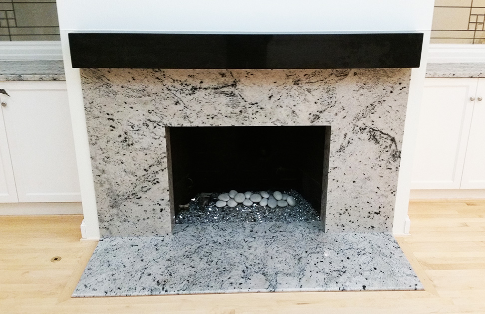 Fireplaces By Granite Marble Specialties Granite Countertops Seattle