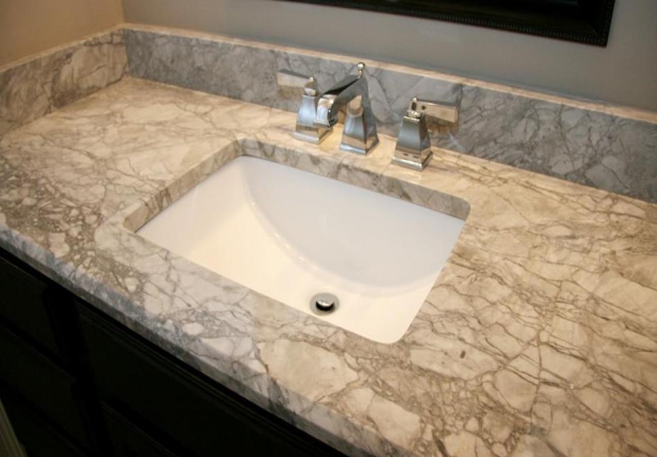 Granitetop Granite Countertops Seattle - Granite vs marble bathroom countertops