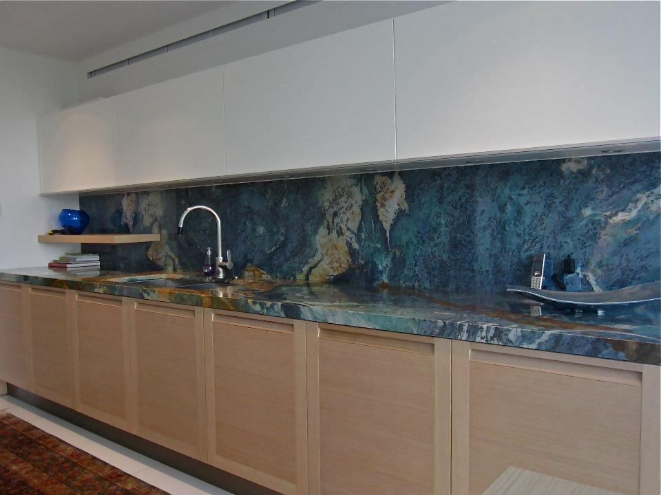 Blue Louisa Granite Countertops Seattle