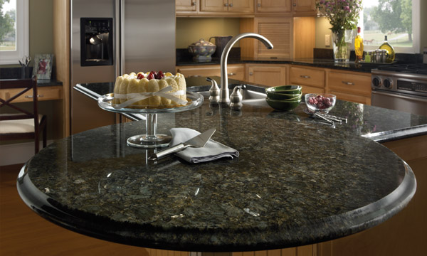 Butterfly Green Granite Countertops Seattle