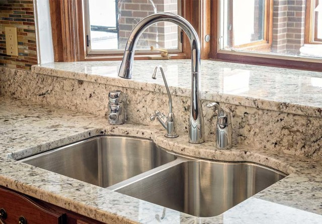 Delicatus White Granite Countertops Seattle