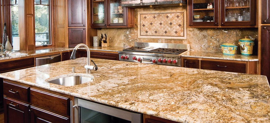Golden Crystal 3 7 Granite Countertops Seattle