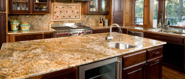 Golden Persa 4 1 3 Granite Countertops Seattle