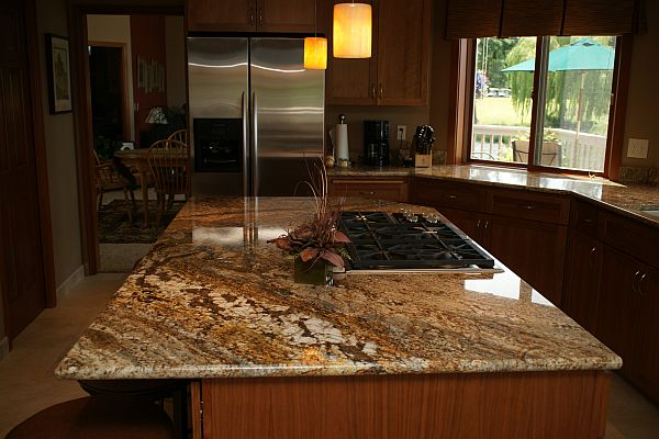 Golden Ray Granite Countertops Seattle