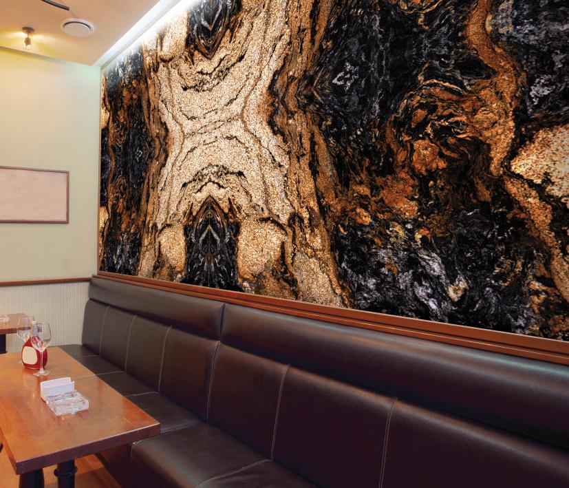 Magma Black Granite Countertops Seattle