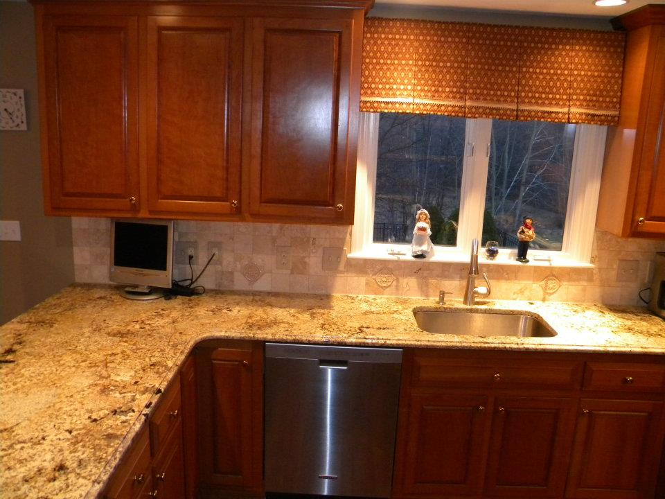 Namib Gold Granite Countertops Seattle