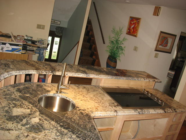 Persa Blue Granite Countertops Seattle