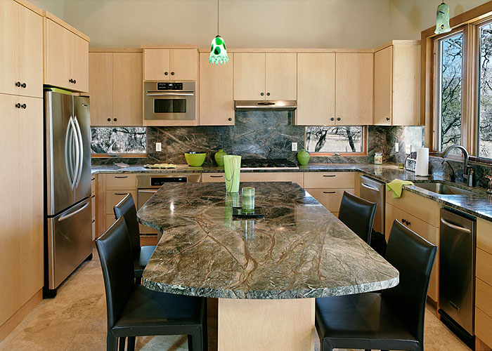 Rain Forest Green Granite Countertops Seattle