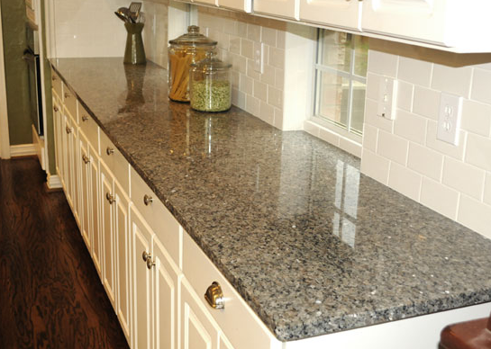 Silver Sparkle Granite Countertops Seattle