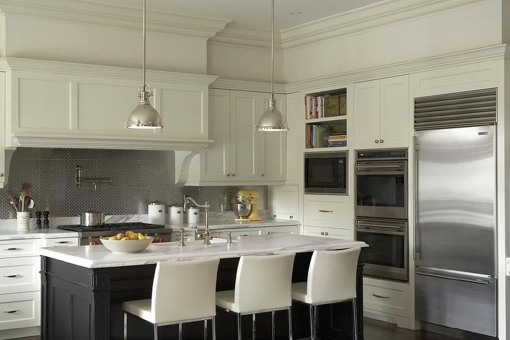 Two Tone Kitchen two tone kitchens | granite countertops seattle