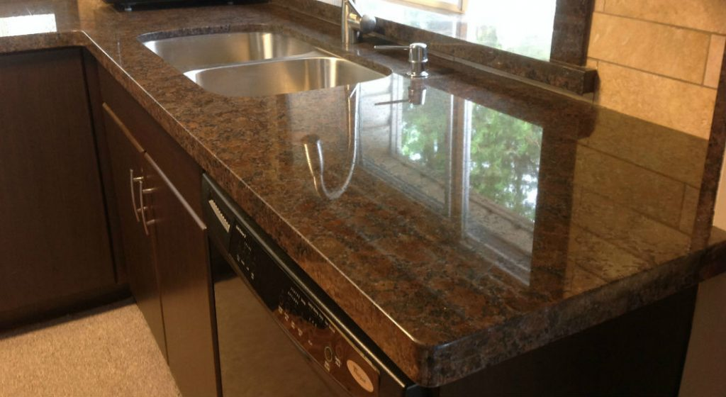 Coffee Brown Granite Countertops Seattle