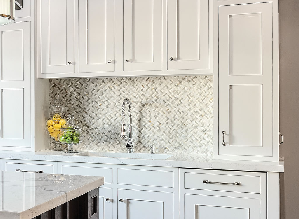 Milton Wa White Cabinet Kitchen Granite Marble Quartz Countertop