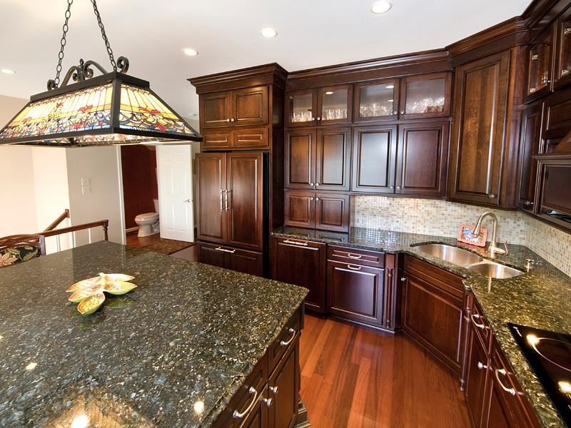 Peacock Green Granite Countertops Seattle