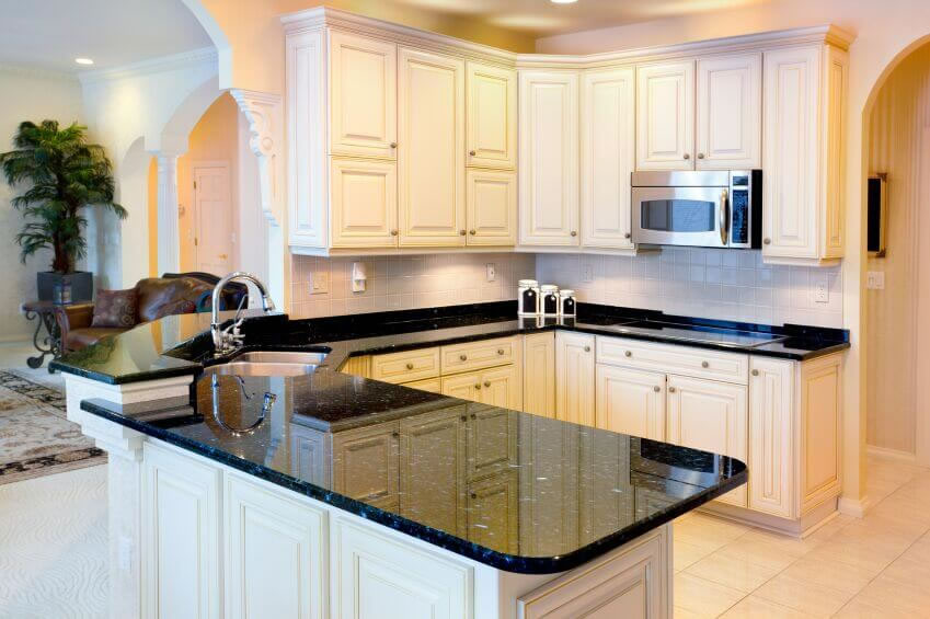 Shoreline Wa White Cabinet Kitchen Granite Marble Quartz Countertop Granite Countertops Seattle