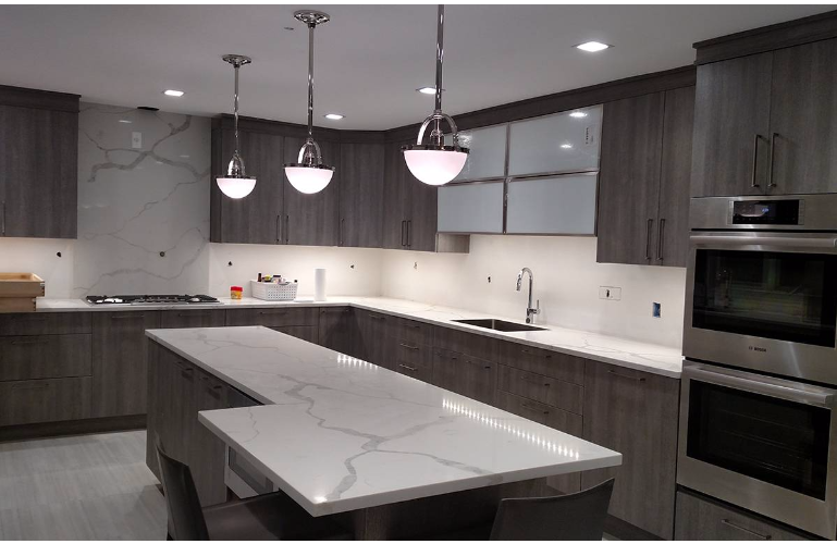 Calacatta Classique Granite Countertops Seattle
