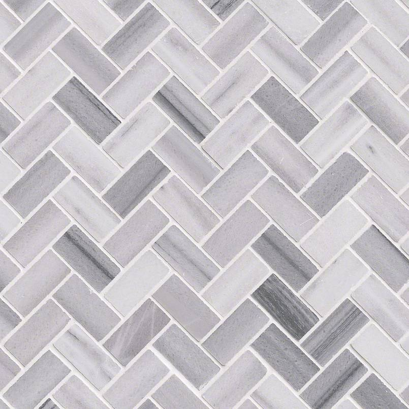 Bergamo Herringbone Polished Granite Countertops Seattle