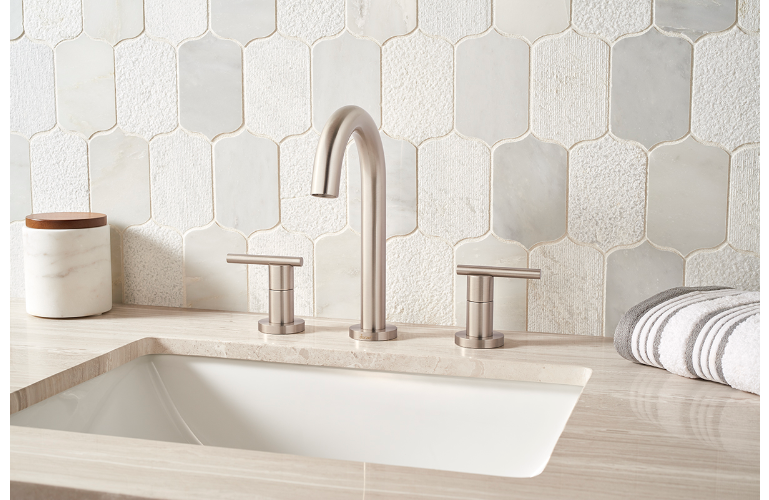 Calypso Blanco Lotus Pattern Multi Finish Granite
