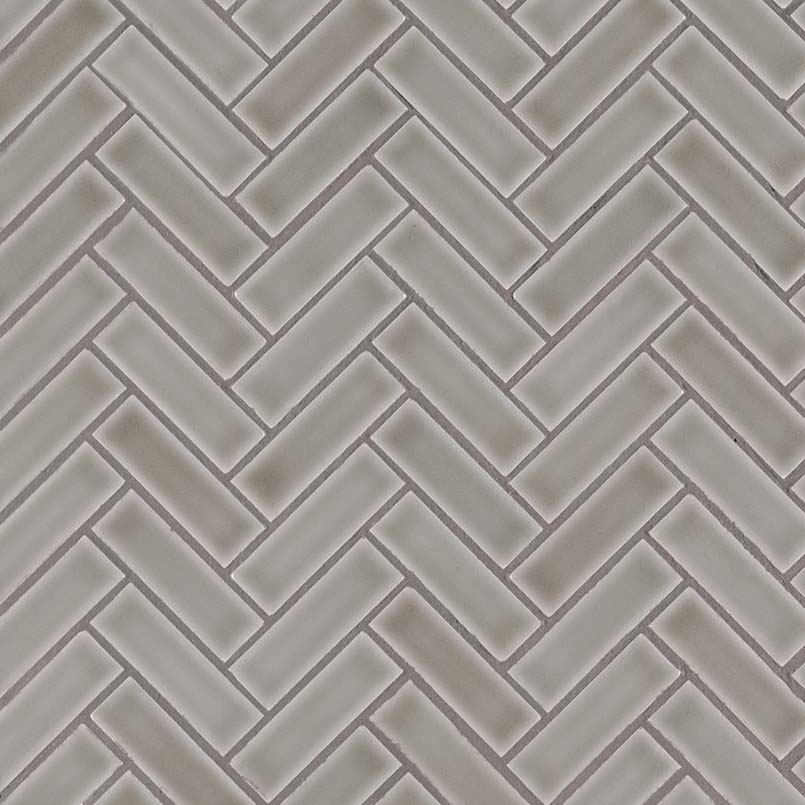 Dove Gray Herringbone Pattern 8mm Granite Countertops