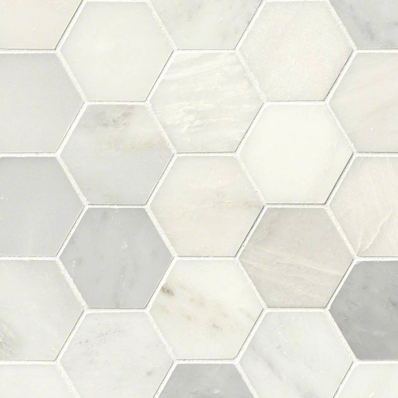 Item Description Greecian White 3 Hexagon Polished Id Smot Gre 3hexp Collection Primary Color S Material Type Marble