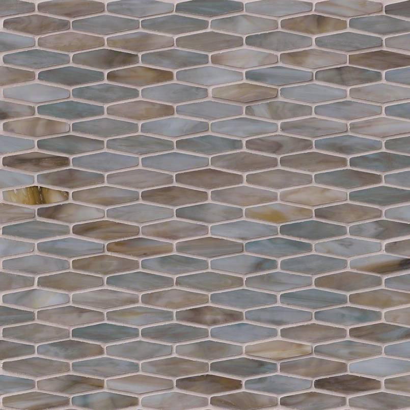Mochachino Hexagon Pattern 3mm Granite Countertops Seattle