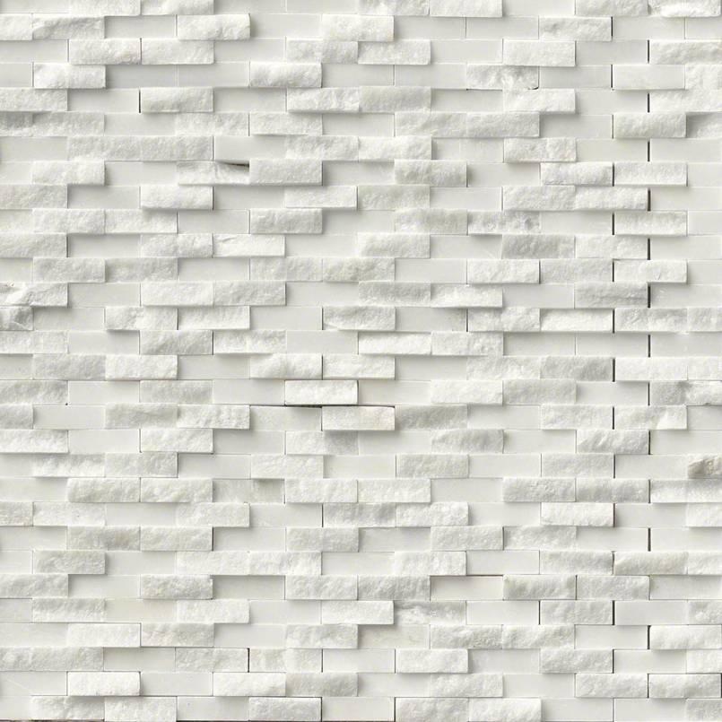 Arabescato Cararra Splitface Pattern Granite Countertops